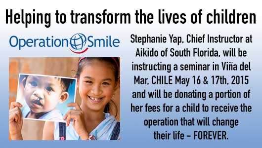 Aikido of South Floirda donates to Operation Smile